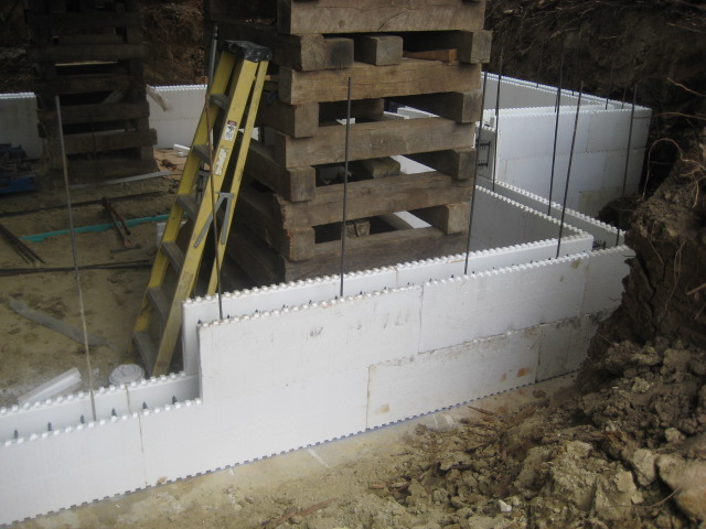 Icf 3 for Insulated concrete forms basement