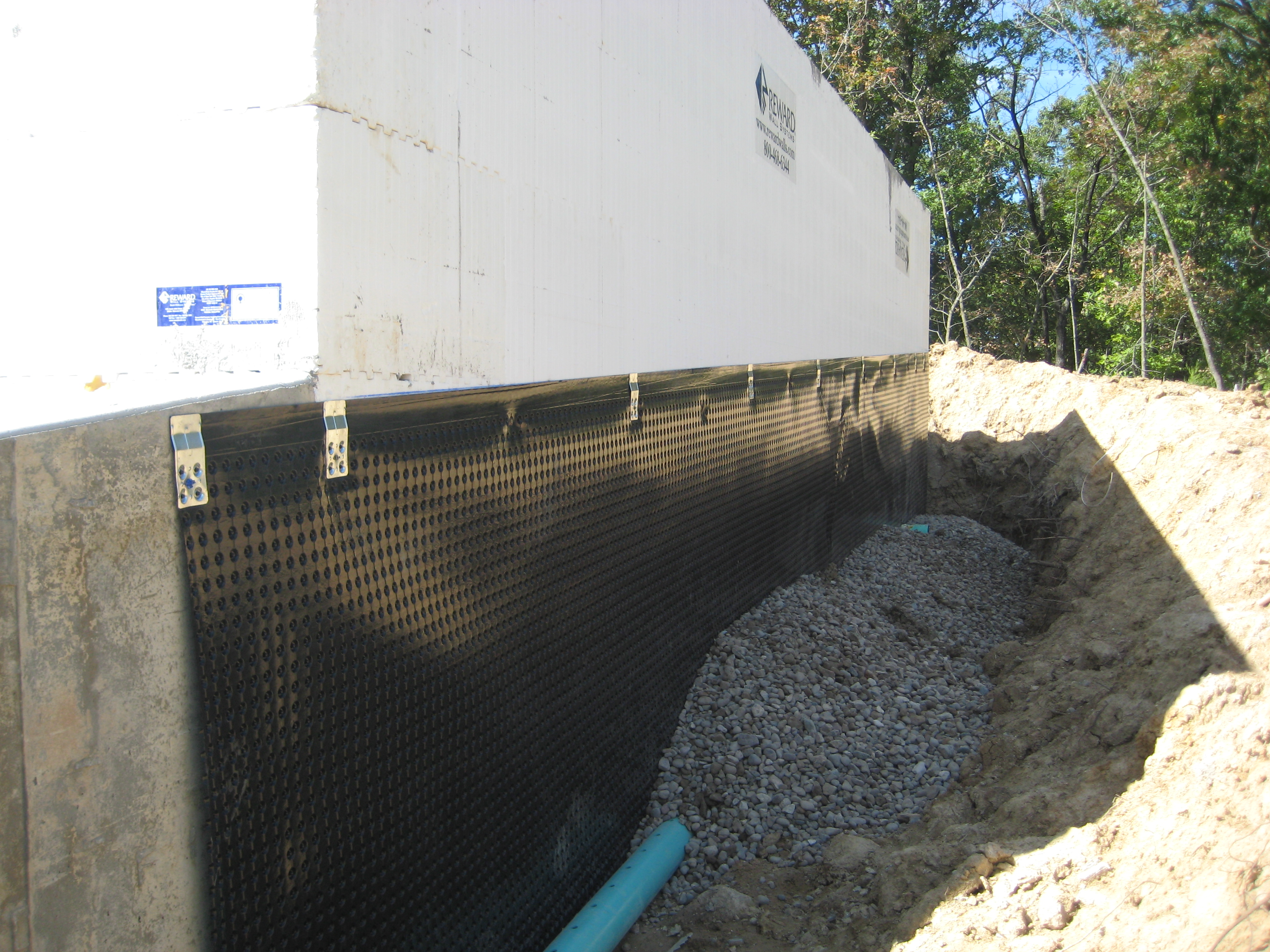 Basement Waterproofing And Drainage